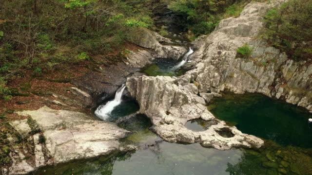 View of Seonnyeotang of Sibiseonnyeo Valley (popular tourist attraction) at Naebyeonsan mountain