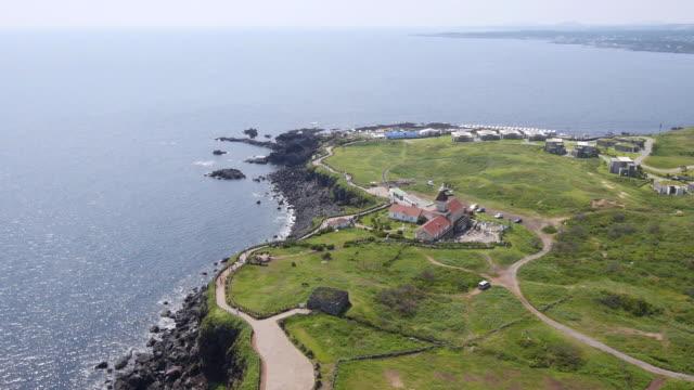 stockvideo's en b-roll-footage met view of seopjikoji coastal feature and seascape - coastal feature