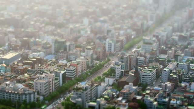 WS HA T/L View of Seoul Gangnam Residential Area / Seoul, South Korea