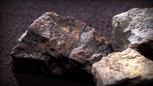 view of several radium ores - uranium stock videos & royalty-free footage