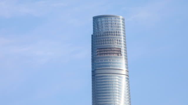 view of shanghai tower observatory at daytime in shanghai, china - shanghai tower stock videos & royalty-free footage