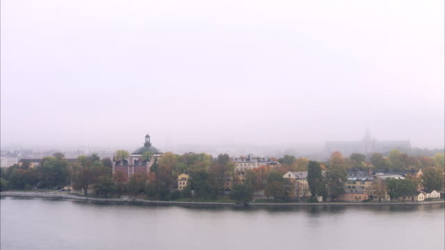 view of skeppsholmen stockholm sweden. - swedish culture stock videos and b-roll footage