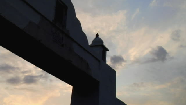 ms zo view of sky / sohna, haryana, india - haryana stock-videos und b-roll-filmmaterial