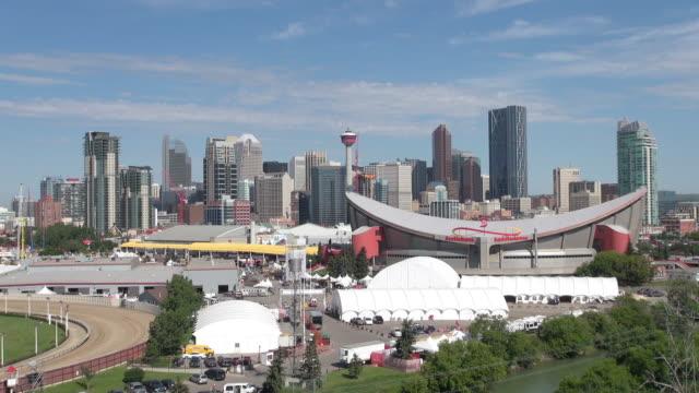 WS View of skyline / Calgary, Alberta, Canada