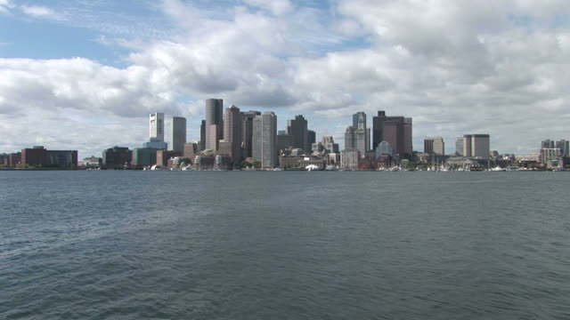 View of skyline in Boston United States