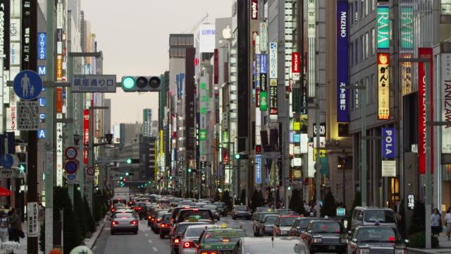 WS View of skyline of Shinjuku West / Tokyo, Tokyo-to, Japan