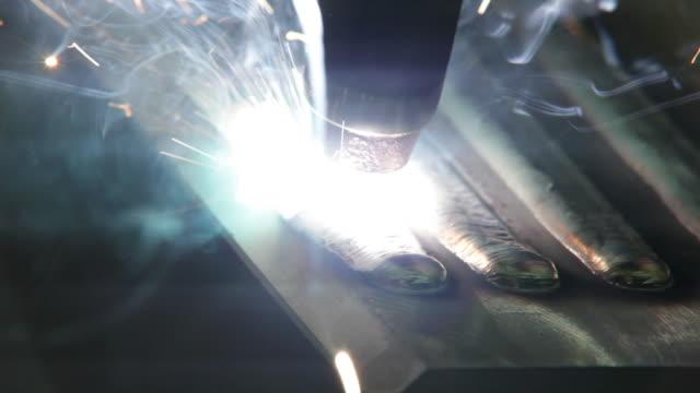 view of soldering iron with spark - järn bildbanksvideor och videomaterial från bakom kulisserna