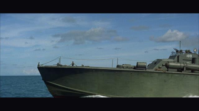 MS PAN View of speeding P-T boat / USA
