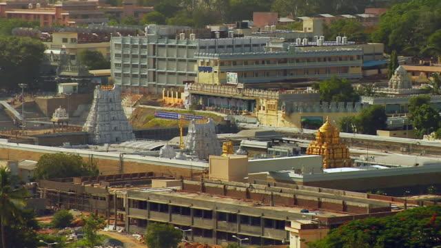 WS View of Sri Venkateswara temple at Tirupati / Tirupati, Andhra Pradesh, India