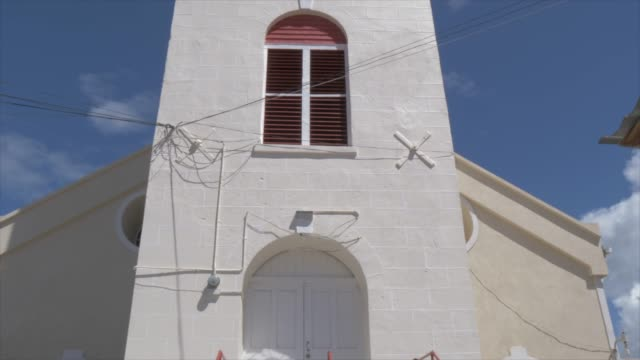 view of st. george's parish church, st. george's, grenada, windward islands, west indies, caribbean, central america - st. george's grenada stock videos and b-roll footage