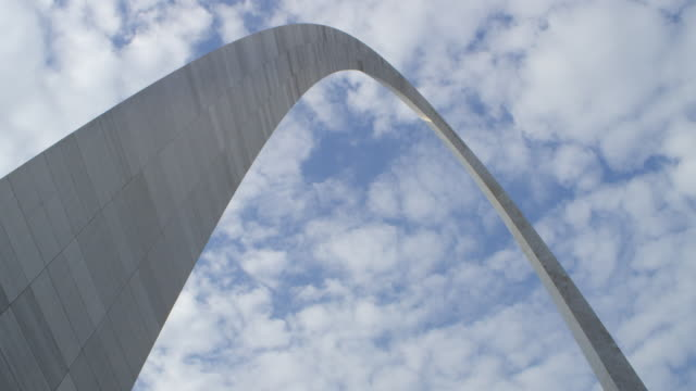 MS View of St. Louis Gateway Arch / St. Louis, Missouri, United States