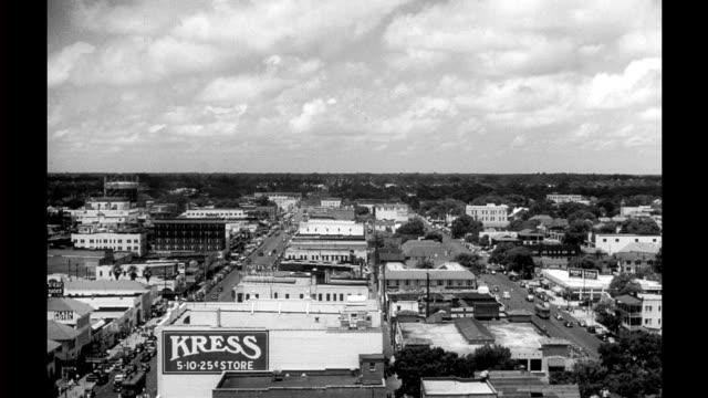 HA view of St Petersburg including Kress department store and the Hotel Alexander HA view of city on January 01 1940 in St Petersburg Florida