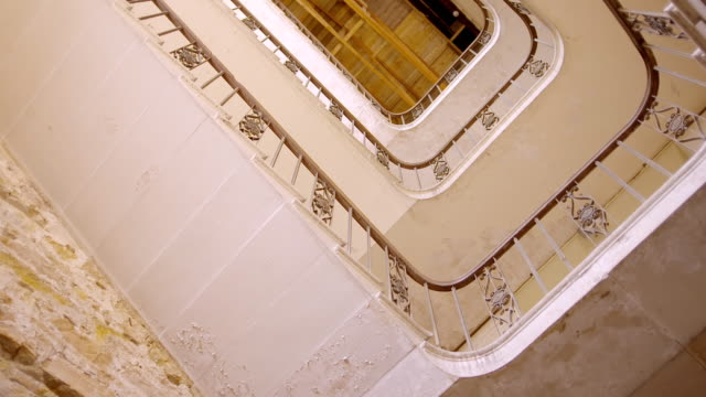 MS DS View of staircase at Gosford House / East Lothian, United Kingdom