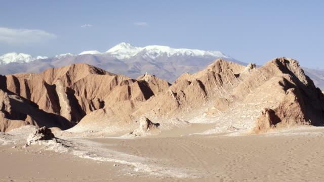 WS View of Static Atacama mountain with skyline / Angostura, Chile