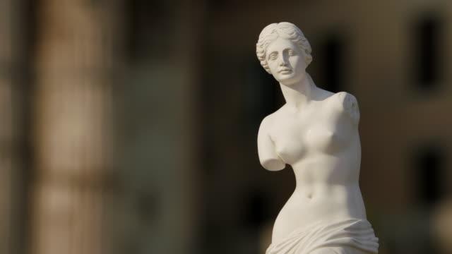 vídeos y material grabado en eventos de stock de ms view of statue / rome, italy - estatua
