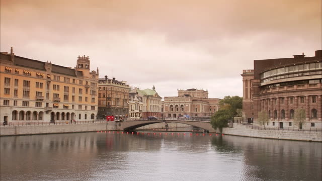 stockvideo's en b-roll-footage met view of stockholm sweden. - politiek