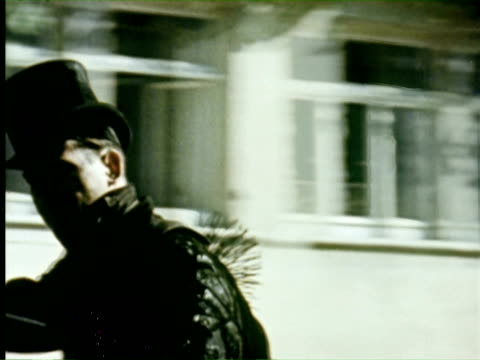 ws pov view of street   audio / germany - menschliche siedlung stock-videos und b-roll-filmmaterial