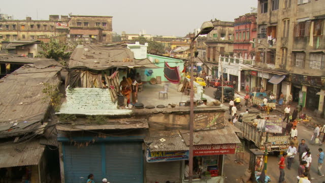 View of street in Kolkata India
