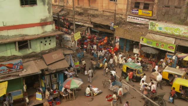 View of street in Kolkata India