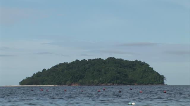 MS View of Sulug island / Kota Kinabalu, Sabah, Malaysia