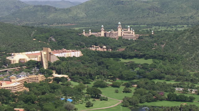 WS AERIAL ZO View of Sun City Casino and resort / South Africa