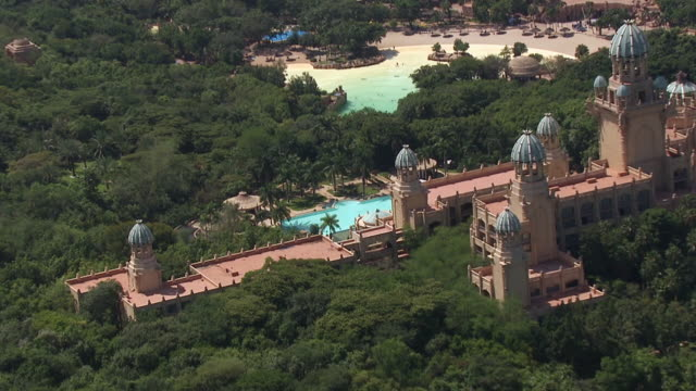 MS AERIAL ZO View of Sun City Casino and resort / South Africa