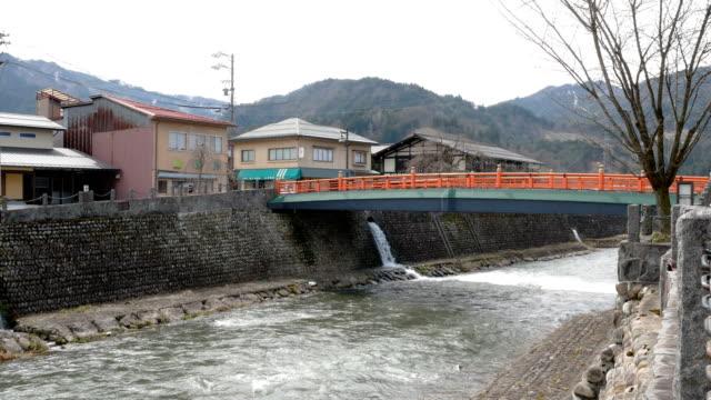 高山市, 岐阜県のビュー - 運河点の映像素材/bロール