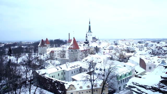View of Tallinn city, Estonia