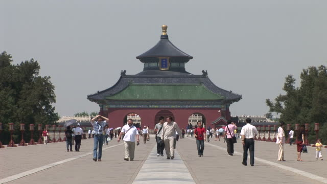 View of Temple Of Heaven in Beijing China
