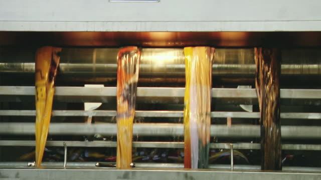 CU View of textile machine, Kanakaria textile mills / Ahemdabad, Gujarat, India