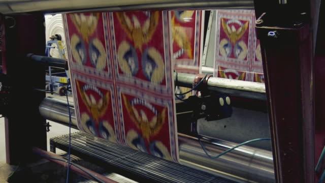MS TU View of textile machine, Mangal textile mill / Ahemdabad, Gujarat, India