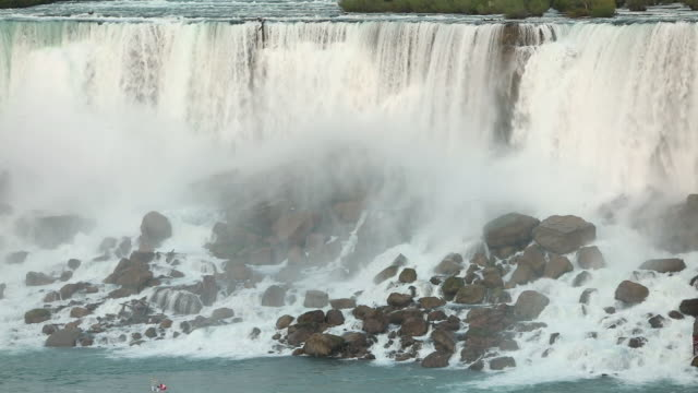 view of the american falls - niagara falls stock videos & royalty-free footage