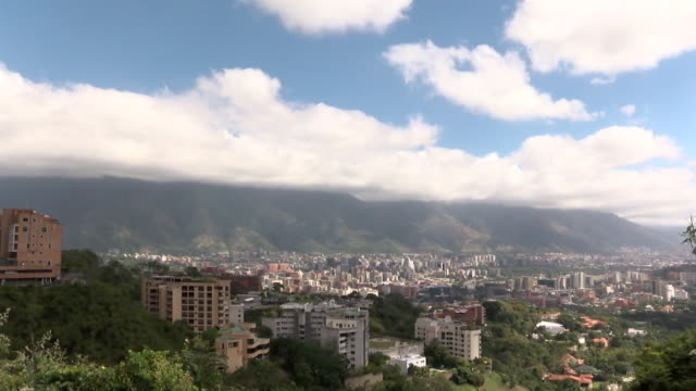 view of the caracas skyline in venezuela - the americas stock videos & royalty-free footage