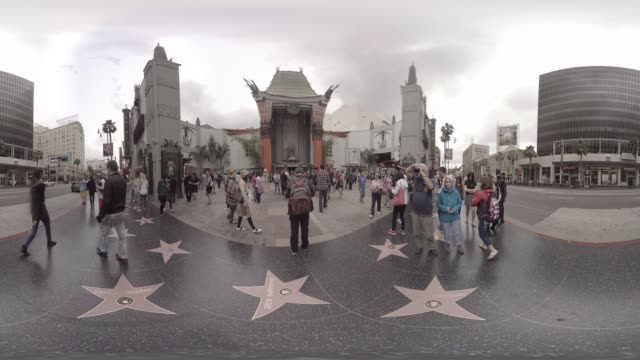 VR view of the Chinese Theater Hollywood