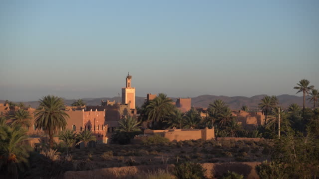 View of the city of Ouarzazate