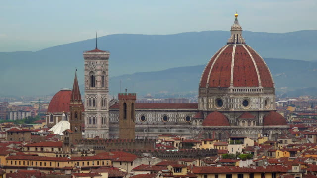 View of the City with Santa Maria del Fiore Cathedral, Florence, Tuscany