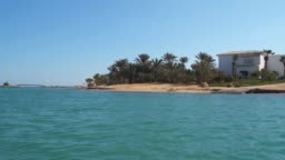 View Of The Coastline In El Gouna. The Red Sea in Egypt
