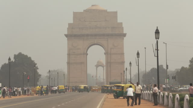 A view of the gate of India