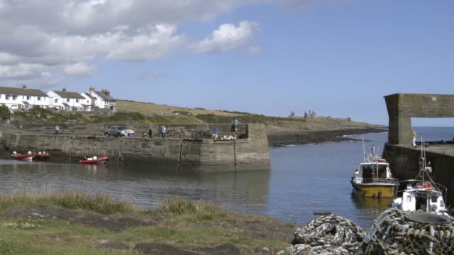 Ansicht der Hafen