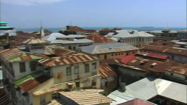 view of the house in zanzibar port, tanzania - east africa stock videos & royalty-free footage
