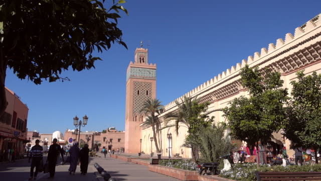 View of the Kasbah Mosque