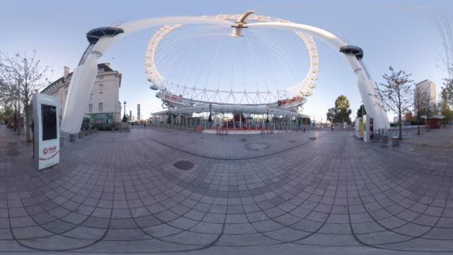 A 360VR view of the London Eye