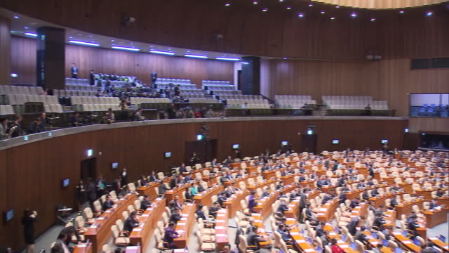 view of the national assembly plenary session in seoul, south korea - parliament building stock videos & royalty-free footage