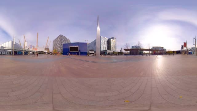 A 360VR view of the O2