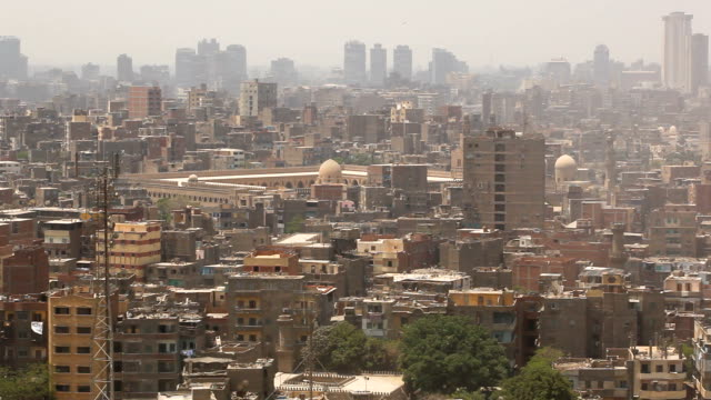 stockvideo's en b-roll-footage met ws view of the old city/ cairo / egypt - caïro