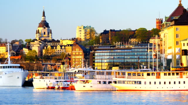 View of the Old Town (Gamla Stan) in Stockholm