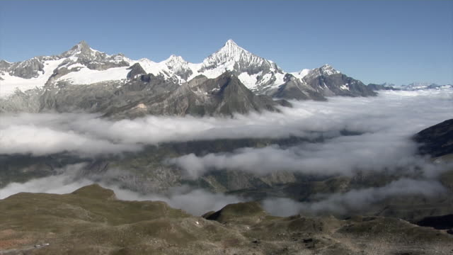 View of the Pennine Alps from the Gornergrat