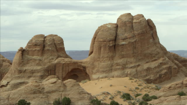 view of the sandstone rock layers. - sandy utah stock videos and b-roll footage