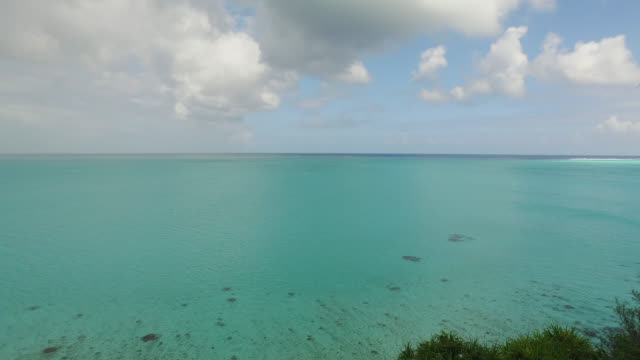 view of the sea - polynesian culture stock videos and b-roll footage