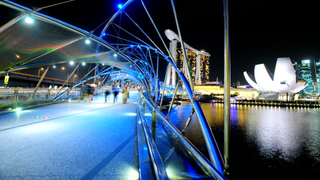 view of the skyline of singapore downtown cbd - chinatown stock videos & royalty-free footage